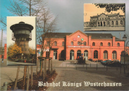 D-15711 Königs Wusterhausen - Bahnhof (Alt+Neu) - Nice Stamp - Koenigs-Wusterhausen