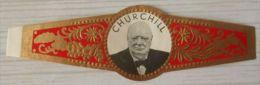 H91  Bague Bagues Cigare Cigares  Churchill  1 Pièce - Bagues De Cigares