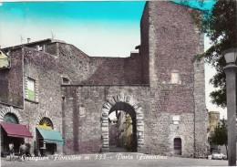 Castiglion Fiorentino, Porta Fiorentina. Cart. Viagg. Anni 60 - Arezzo