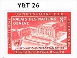 Amériques- Nations Unies: Lot Divers Dont 1 Neuf Sans Charnière Ni Trace (voir Description) - Timbres