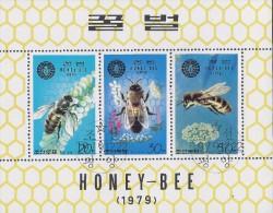 DPR KOREA HONEY BEES Sc 1900a CTO MNH 1979 - Abeilles