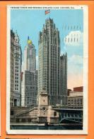 FRU-14  Chicago. Tribune Tower And Med. Athletic Club. Used In 1933 For Switzerland - Chicago