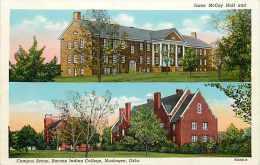 238325-Oklahoma, Muskogee, Bacone Indian College,  Campus Scene, Isaac McCoy Hall, Curteich No 7A688-N - Muskogee
