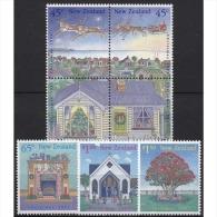 Neuseeland 1992 Weihnachten 1254/60 Postfrisch - Neuseeland