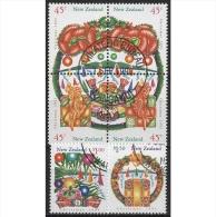 Neuseeland 1993 Weihnachten 1298/03 A Gestempelt - Oblitérés