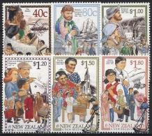 Neuseeland 1998 Jahrtausendwende Neuer Beginn Für Einwanderer 1659/64 Gestempelt - Oblitérés