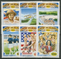Neuseeland 1993 Die Vierziger Jahre 1320/25 Postfrisch - Neuseeland