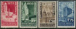 Belgie 1934. Michel #378/81 VF/MNH(**).  (TS15) - 1935 – Brussels (Belgium)
