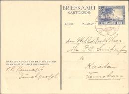 Ned.Indië, 1946 Briefkaarten, 2 Gestempeld Bandoeng Resp. Tanahgrogot (dik Karton), 1* Ongestempeld Met Kerstwens (dun) - Netherlands Indies