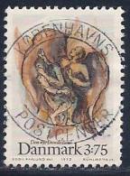 Denmark, Scott # 974 Used Jacob, Angel, 1992 - Denmark