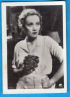 MERLENE DIETRICH - Original Vintage Germany Card Mercedes-Filmbilder *  German-American Actress And Singer - Cinema & TV