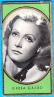 GRETA GARBO - Original Vintage Germany Card Bunte Filmbilder *  Sweden Film Actress - Cinema & TV