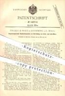 Original Patent - Fouquet & Frauz In Rottenburg A. N. , 1902 , Doppelzungennadel-Rundwirkmaschine , Stricken , Nähen !!! - Rottenburg