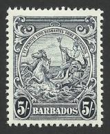 Barbados, 5 S. 1941, Sc # 201A, MH - Barbados (...-1966)