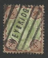 Great Britain, 4 P. 1887, Sc # 116, Mi # 91, Used, Weybridge - 1840-1901 (Victoria)