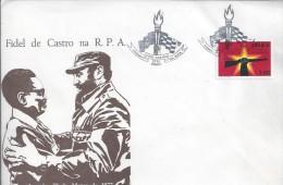 Obliteração Da Visita De Fidel De Castro A Angola, 1977. Fidel Castro Visit The Obliteration Of The Angola 1977. - Angola