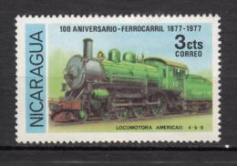 Nicaragua, Train, Cloche, Bell - Treni