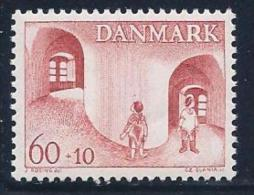 Denmark, Scott # B41 Mint Hinged Child Welfare, 1968 - Greenland