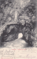 Vernayaz : Gorges Du Trient - Oblitérée AMBULANT No 8,  Le 15.VI.1905 - A Destination De OSNABRÜK - VS Valais