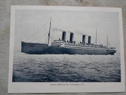 Norddeutscher Lloyd Schnelldampfer Kaiser Wilhelm II. -Passagierschiff -  Szalon Ujság  1907-Hungarian Print  S0065 - Documenti Storici