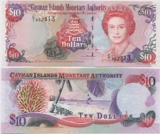 CAYMAN IS.     10 Dollars     P-35a       2005         UNC