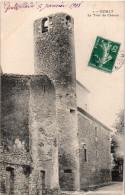 GOULT  ( Vaucluse ) -  LA TOUR DU CHÂTEAU -  1908 - France