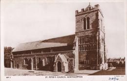 NORTHAMPTON - ST PETERS CHURCH. TUCK PBL. NPT7 - Northamptonshire