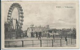 AK 0110  Wien - Volksprater / Riesenrad - Seltene Ansicht Ca. Um 1910-20 - Prater