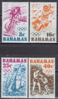 Bahamas - Mi-Nr 398/401 Postfrisch / MNH ** (w571) - Estate 1976: Montreal