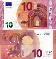 EUROPEAN UNION       10 Euro       P-21e       2014      UNC  [ Prefix: EA] - 10 Euro