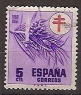 España U 1084 (o) Tuberculosos. 1950 - 1931-50 Gebraucht