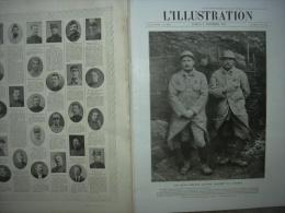 L'ILLUSTRATION 3796 LES 2 SAPEURS D'ARTOIS/ GAZ/ MACEDOINE/ REIMS/ AVIATION/ POLONAIS/ OBUS 4 Décembre 1915 - L'Illustration