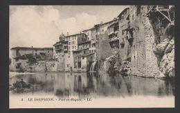 DF / 38 ISÈRE / PONT-EN-ROYANS / LES MAISONS SUR LA RIVIERE - Pont-en-Royans