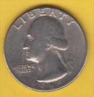 USA -  1965 Circulating 25¢ Coin (#1965-25-01) - 1932-1998: Washington