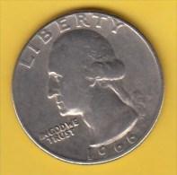 USA -  1966 Circulating 25¢ Coin (#1966-25-01) - 1932-1998: Washington