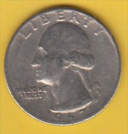 USA -  1967 Circulating 25¢ Coin (#1967-25-01) - 1932-1998: Washington