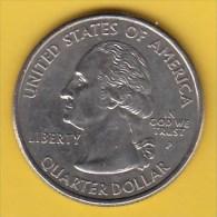 "USA - 2005 Circulating 25¢ Coin ""Oregon"" (#2005-25-01) - Federal Issues"