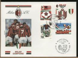 ITALIA   -   MILAN  Campione D'Italia 95-96 - Famous Clubs