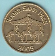 USA - Circulating Sugar Sand Park Coin (01) - USA