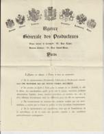 Frankrijk France  Esposition Parijs Paris Agence Internationale Des Exposant 1889 - France