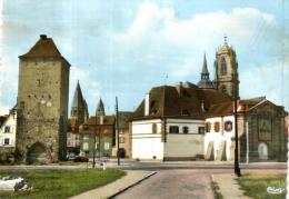 86791 - Selestat (67) Tour Des Sorcieres   Porte De Stasbourg Et Eglise Saint Georges - Selestat