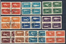 China Michel No. 146 - 175 II Viererblock gestempelt used