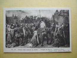 Jeanne D'Arc Conduite Au Bûcher. - History