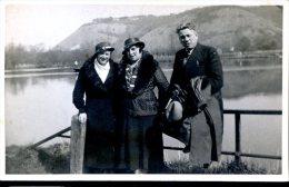 Photo Vallée De La Seine Prise De Rouen En Mars 1933 Personnages Identifiés - Fotografie