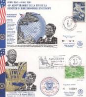 035 PARLEMENT EUROPEEN 08 05 1985 LIBERATION Et FIN SECONDE GUERRE MONDIALE  FDC  TTB - European Community