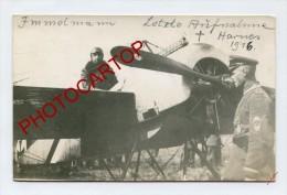 Max IMMELMANN-Letzte Aufnahme-Derniere Photo-Flieger-Avion-Aviation-CARTE PHOTO Allemande-Guerre 14-18-1 WK-MILITARIA- - Airmen, Fliers