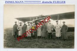 JASTA-Max IMMELMANN-?-Flieger-Avion-Aviation-Fliegerei-CARTE PHOTO Allemande-Guerre 14-18-1 WK-MILITARIA- - War 1914-18