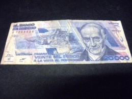 MEXIQUE 20000 Pesos 01/02/1988,pick N° 92 A ,MEXICO - Mexiko