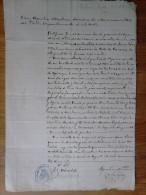 A182B-DOCUMENTO FISCAL CON SELLO FEDERICO LOPEZ 1917 MORATALLA,FIRMADO TAMBIEN POR AGUSTIN MARTINEZ SECRETARIO ACCIDENTA - Manuscritos