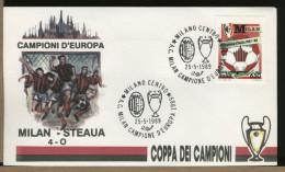 ITALIA  -  MILAN   Campione  D'Europa  '89   -  Trofeo  Coppa  Campioni - Famous Clubs